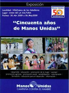 Exposición 50 años Manos Unidas
